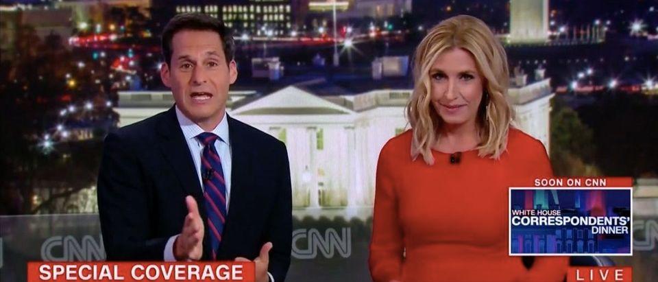Screen Shot CNN WHCD (April 28, 2018)