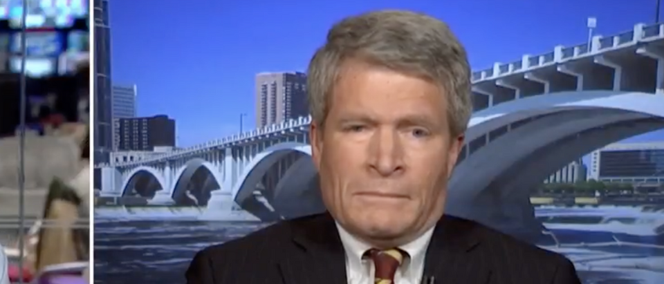 Richard Painter on MSNBC (Youtube/Screenshot) | R. Painter Won't Back Franken's Accusers