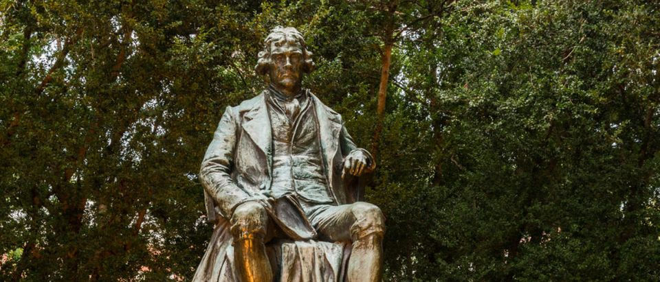 Featured is a Thomas Jefferson statue at UVA. (Shutterstock/Steve Heap)