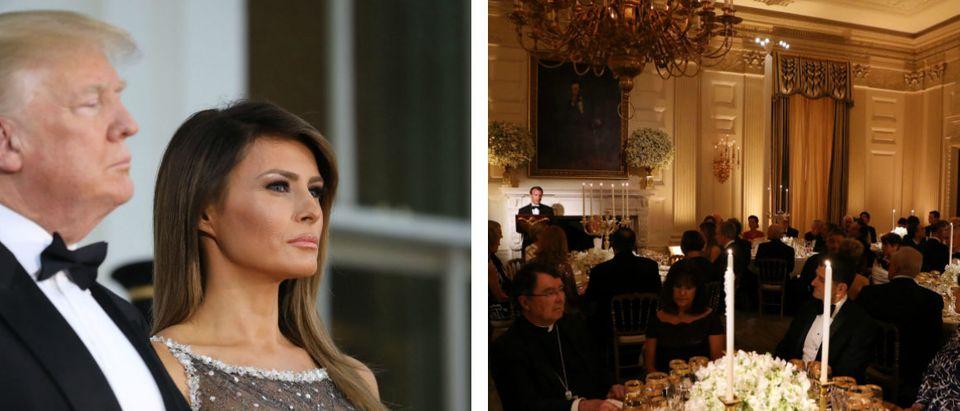 Trump Praises Melania