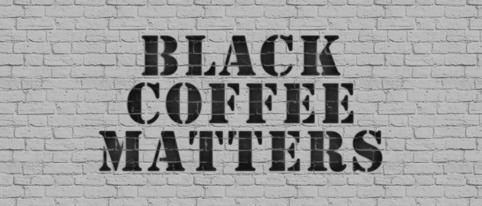 black coffee matters. Illustration by Tom White