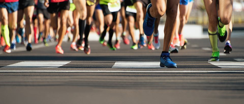 Runners competing in an event (Photo: Shutterstock/Pavel1964) | German Police Foiled Terrorist Stabbing