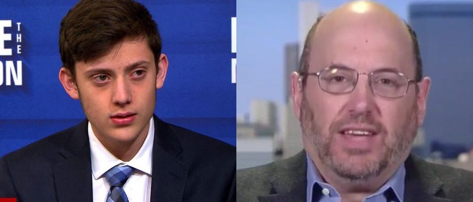 Kyle Kashuv and Kurt Eichenwald