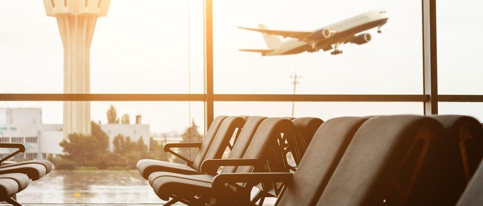 Airport seats, Shutterstock