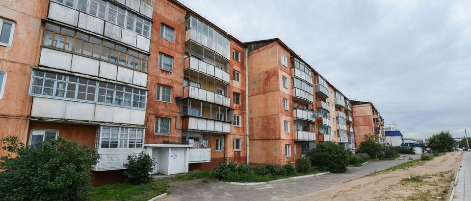 A Soviet Style Apartment Block, also know as Panel Buildings, in Russia. (Photo:Shutterstock/Felix Lipov) | Russia: Nothing Weird In Reporter's Death