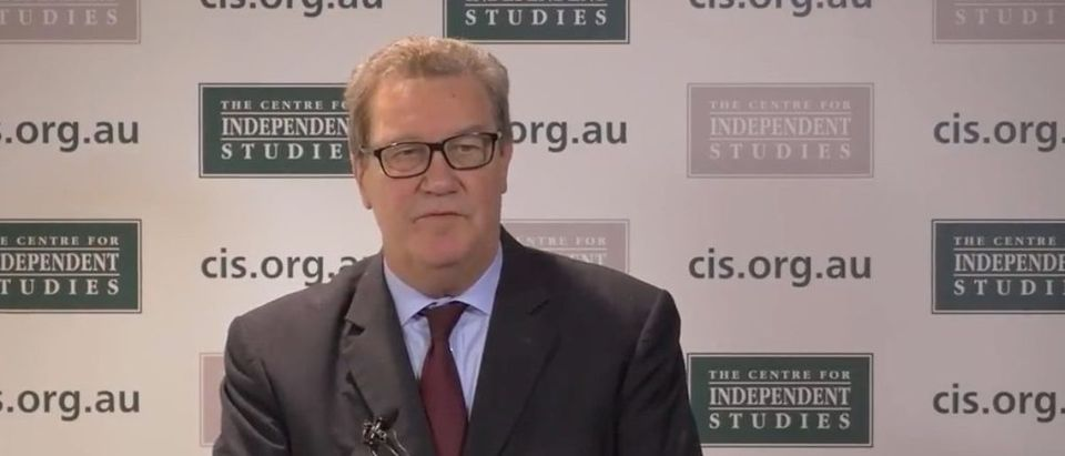Alexander Downer (YouTube screen capture) | Downer's Meeting With Papadopoulos