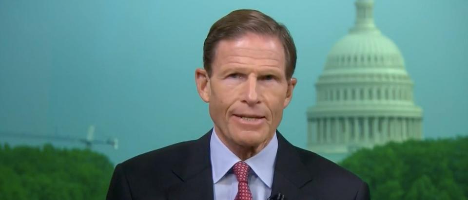 Sen. Blumenthal MSNBC Screenshot
