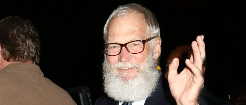 David Letterman was sighted on October 7, 2016, in New York City. (Photo: ShutterStock/JStone)