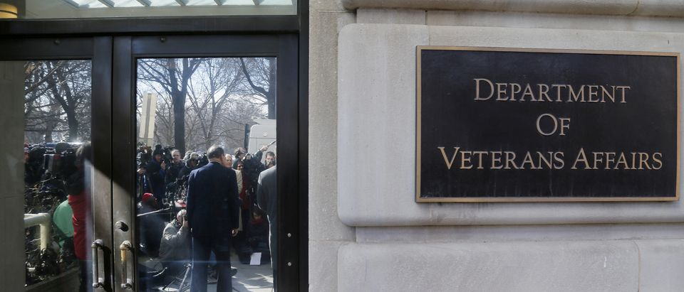 McDonald delivers an apology, for recent misstatements about his military record, to reporters outside VA headquarters in Washington