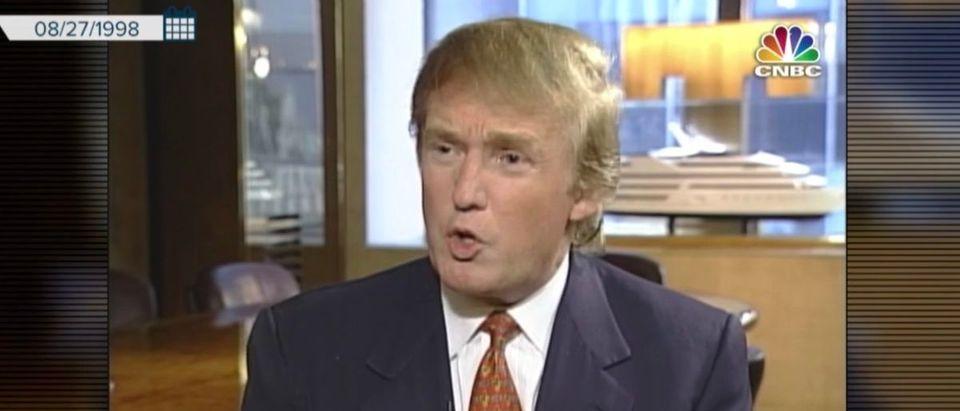 Screenshot/YouTube/NBC News | Trump: Clinton Should Have Pled The Fifth