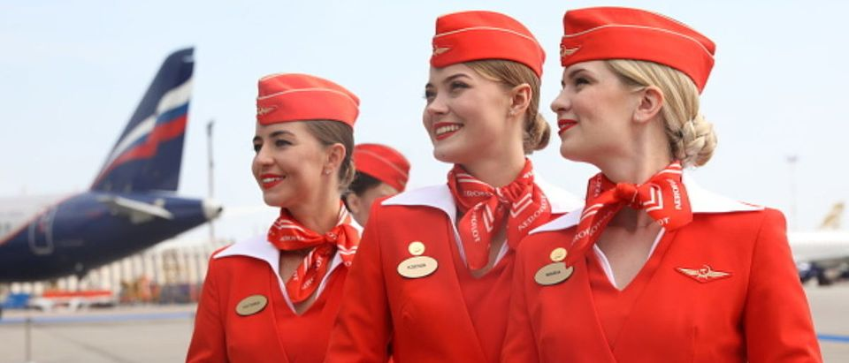 Aeroflot unveils Gzhel-themed livery for passenger plane to mark its 95th birthday