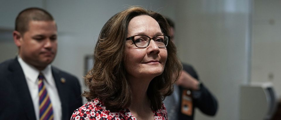 Gina Haspel Meets With Lawmakers On Capitol Hill