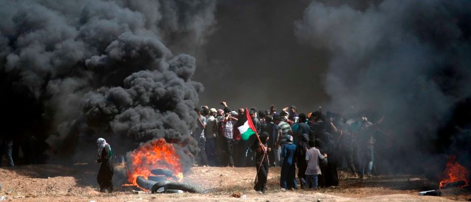 TOPSHOT-PALESTINIAN-ISRAEL-US-CONFLICT