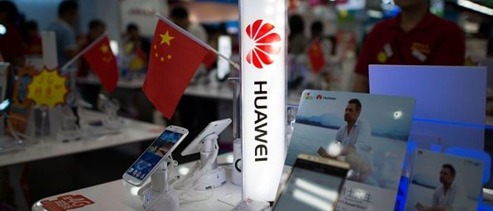 CHINA-FRANCE-TELECOMS-COMPANY-HUAWEI