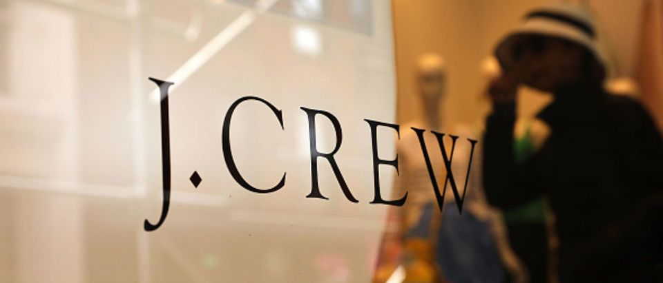NEW YORK, NY - MAY 12: A J. Crew store stands in lower Manhattan on May 12, 2017 in New York City. Comparable sales for the apparel retailer fell 6.7% in its most recent fiscal year on top of an 8.2% drop the year before. J. Crew announced on Tuesday that it was getting rid of 150 full-time and 100 open positions. (Photo by Spencer Platt/Getty Images)