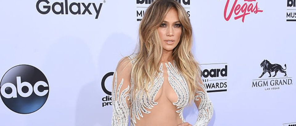 Musician Jennifer Lopez attends the 2015 Billboard Music Awards at MGM Grand Garden Arena on May 17, 2015 in Las Vegas, Nevada. (Photo by Jason Merritt/Getty Images)