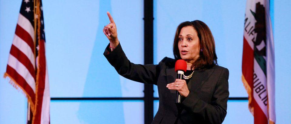 U.S. Senator Kamala Harris holds a town hall meeting in Sacramento