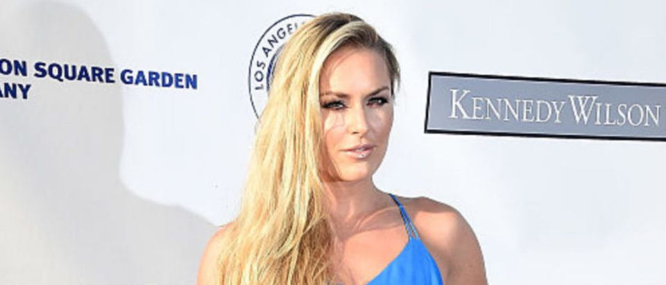 Lindsey Vonn arrives at the Los Angeles Dodgers Foundation Blue Diamond Gala at Dodger Stadium on July 28, 2016 in Los Angeles, California. (Photo by Frazer Harrison/Getty Images)