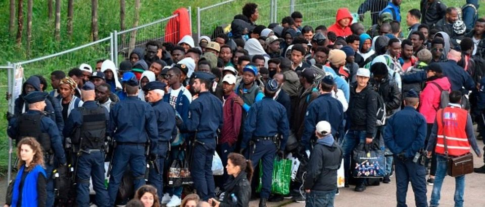 FRANCE-MIGRANT-EVACUATION
