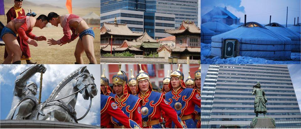 Mongolia collage photos courtesy of Jonathan Addleton