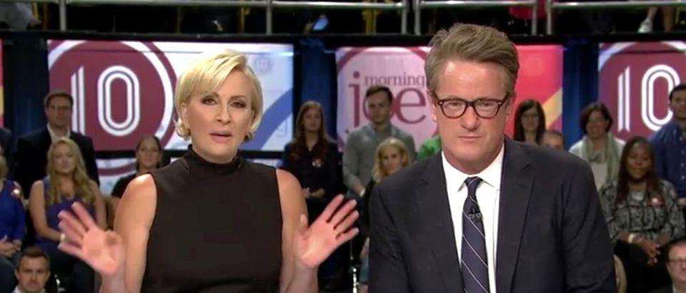 Morning Joe and Mika YouTube screenshot/MSNBC