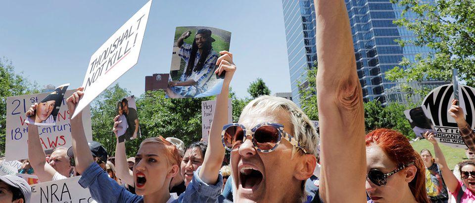 NRA Protest REUTERS/Lucas Jackson