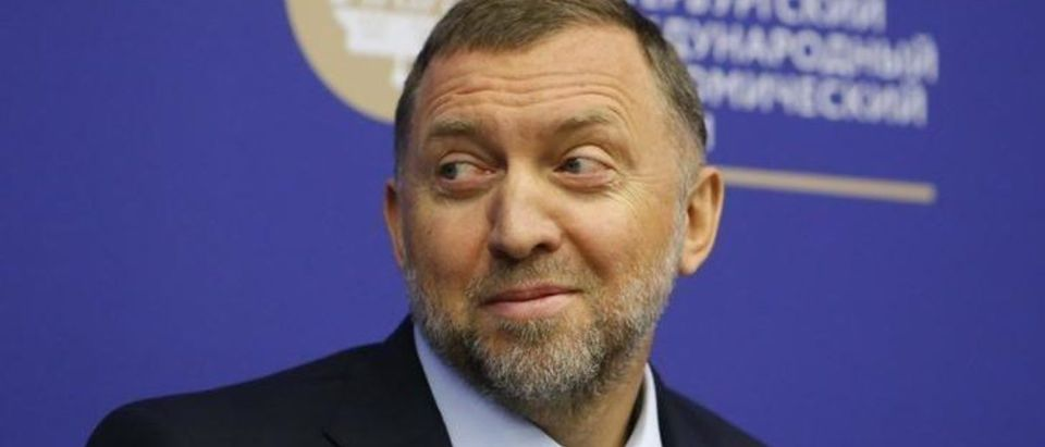 Russian tycoon Oleg Deripaska attends a session of the St. Petersburg International Economic Forum (SPIEF), Russia, June 1, 2017. REUTERS/Sergei Karpukhin | Russian Oligarch In 2016: No Collusion