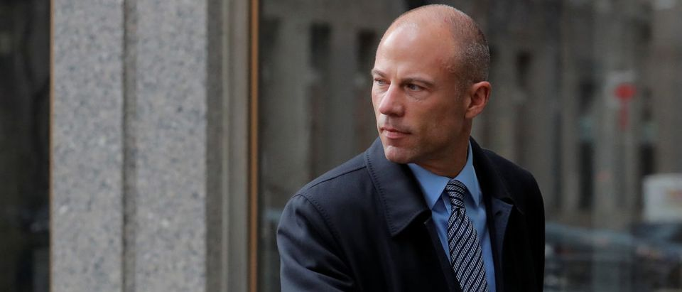 Attorney for Stormy Daniels, Avenatti arrives at federal court in New York City