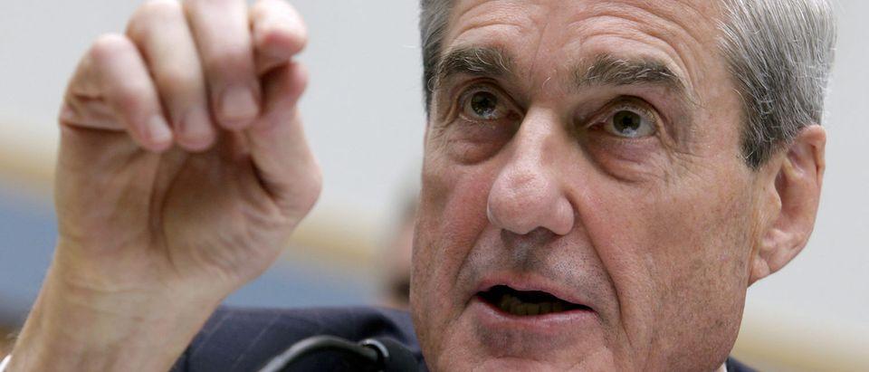 FBI Director Mueller testifies on Capitol Hill in Washington