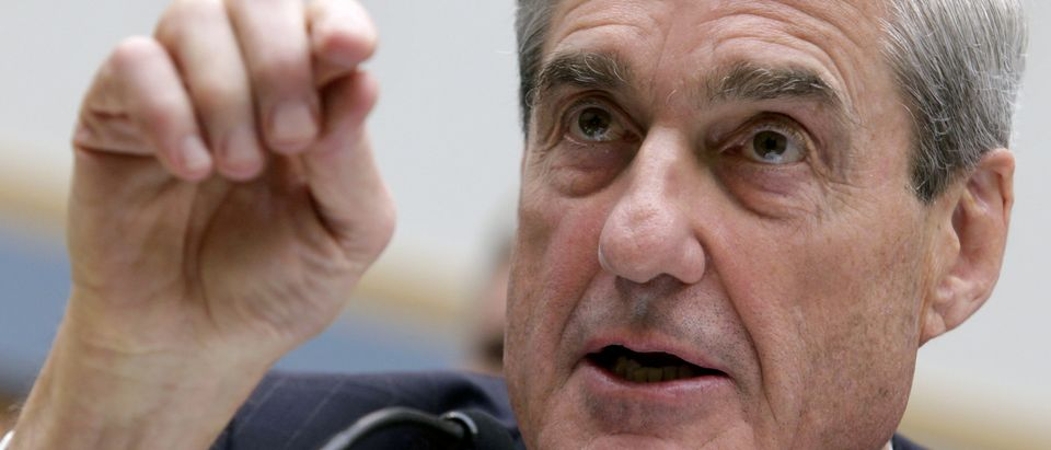 FBI Director Robert Mueller testifies before the House Judiciary Committee hearing on Federal Bureau of Investigation oversight on Capitol Hill in Washington, DC, U.S., June 13, 2013. REUTERS/Yuri Gripas/File Photo - RC11C929C9C0