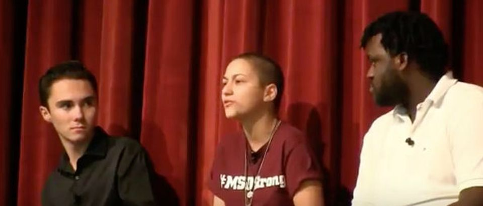 Gun control activist Emma Gonzalez goes on rant about AR-15s. Raw Story Youtube screenshot