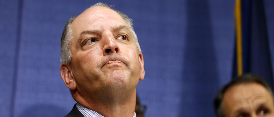 Louisiana Gov. John Bel Edwards speaks during a news conference in Baton Rouge, Louisiana, July 10, 2016. REUTERS/Jonathan Bachman