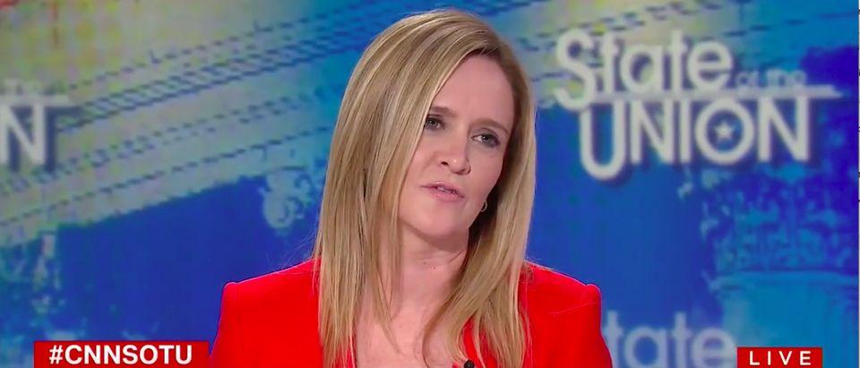 "Samantha Bee on CNN's ""State of the Union"" (Photo: Screenshot/CNN)"