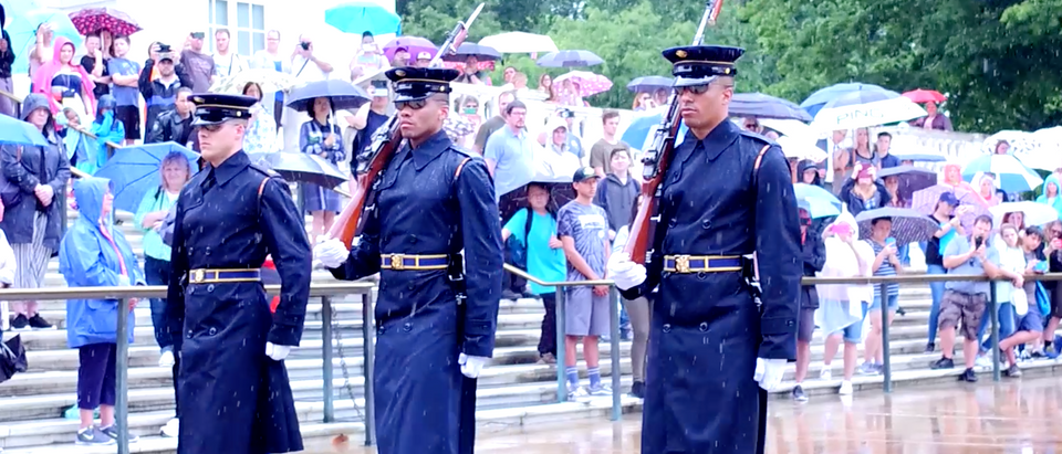 The Tomb of Unknown Soldier in Washington, D.C.