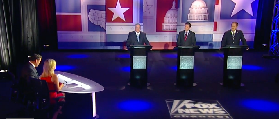 Screen Shot/Fox News/Youtube/West Virginia GOP Senate Primary Debate | West VA Candidates Wont Support McConnell