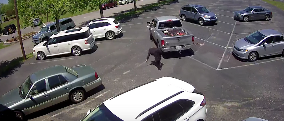 Screen Shot:Youtube:Metropolitan Nashville Police Department | Elderly Woman Robbed Church Parking Lot