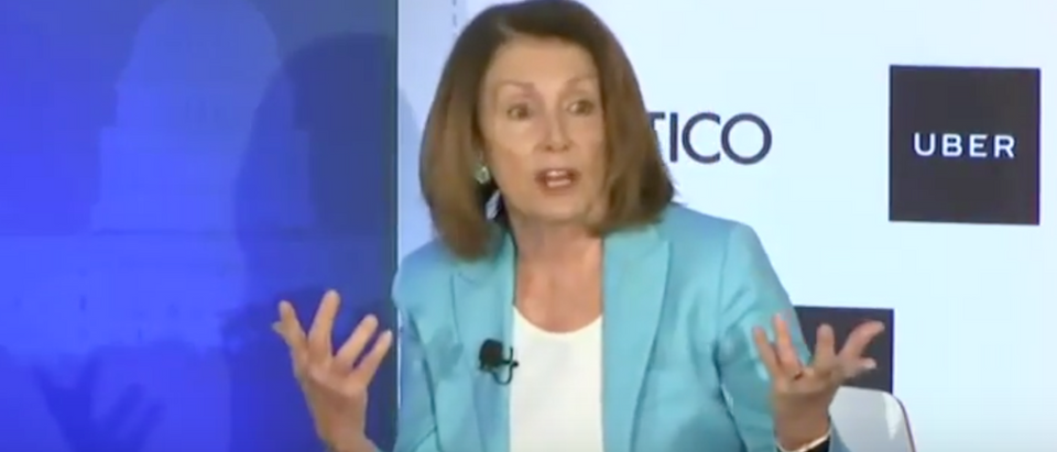 Screen Shot:Youtube:Nancy Pelosi:Politico Live Event