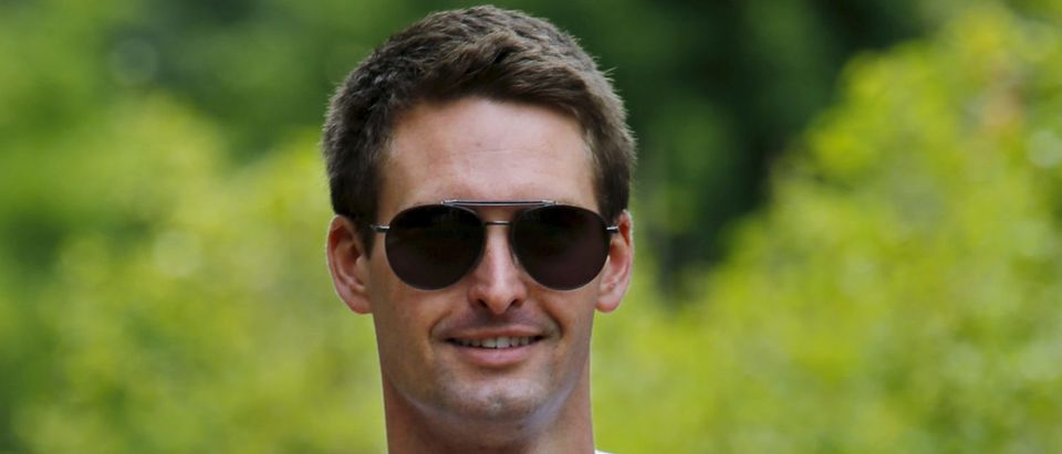 Snapchat CEO Evan Spiegel attends the first day of the annual Allen and Co. media conference in Sun Valley, Idaho, July 8, 2015. REUTERS/Mike Blake | Snap, Snapchat Hires Amazon CFO Tim Stone