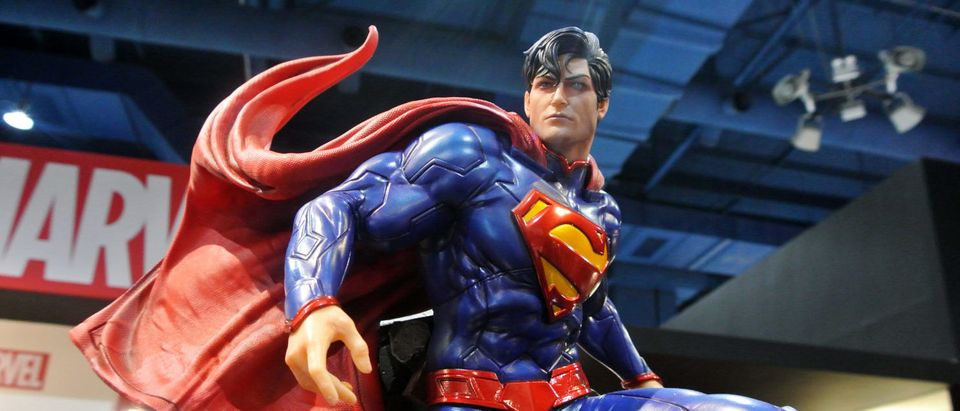 Superman Statue (Shutterstock/ Aisyaqilumaranas) | FBI Redacts Superman From FOIA Report