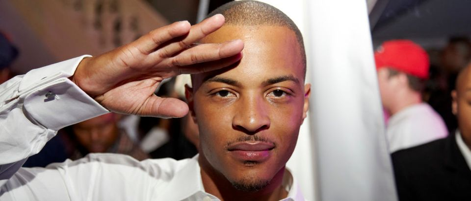 T.I. attends GREY GOOSE Cherry Noir Hosts Official Birthday Celebration for T.I. in Atlanta on September 29, 2012 in Atlanta, Georgia. (Photo by Craig Bromley/Getty Images for GREY GOOSE)