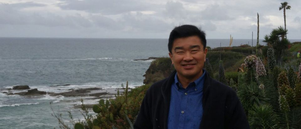 Tony Kim, one of the three Americans being held captive by North Korea, is seen in this photo taken in California in 2016, released to Reuters by the family of Tony Kim March 11, 2018. Courtesy of the family of Tony Kim/Handout via REUTERS