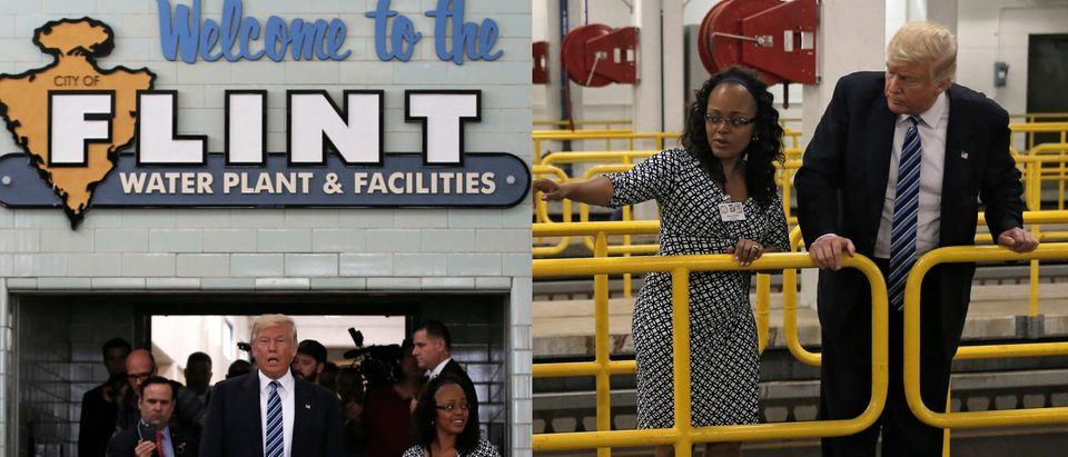 Trump visiting Flint, Mich., water plant, Reuters