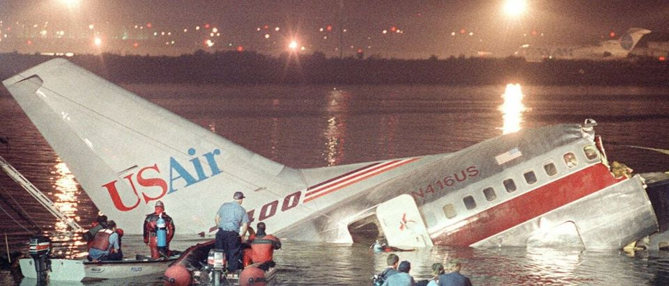 airplane wreckage Getty Images/Don Emmert