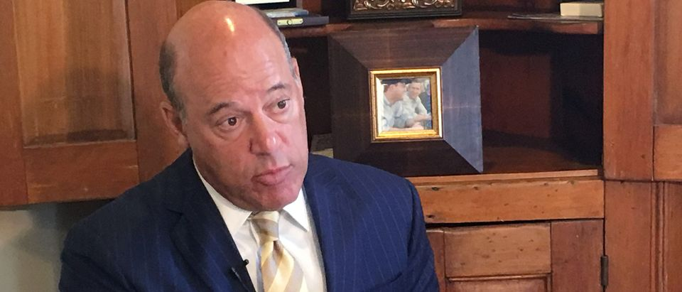 Ari Fleischer speaks during an interview with Reuters in his office in Bedford, New York, U.S. September 7, 2016. Picture taken September 7, 2016. REUTERS/Hussein Waaile - S1AEUAGXIPAB