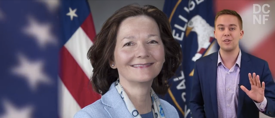 Gina Haspel, President Donald Trump's pick to become the director of the CIA, faced a grilling from the Senate Intelligence Committee Wednesday, answering questions regarding her views of torture and her vision for the agency.(Screenshot/YouTube/DCNF)