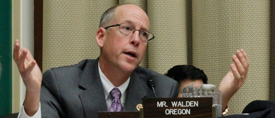 U.S. Rep. Greg Walden (R-OR) asks questions of the witnesses during a House Energy and Commerce Committee hearing on the Patient Protection and Affordable Care Act on Capitol Hill in Washington, October 24, 2013. REUTERS/Jason Reed   Who's Responsible For Opioid Flooding?