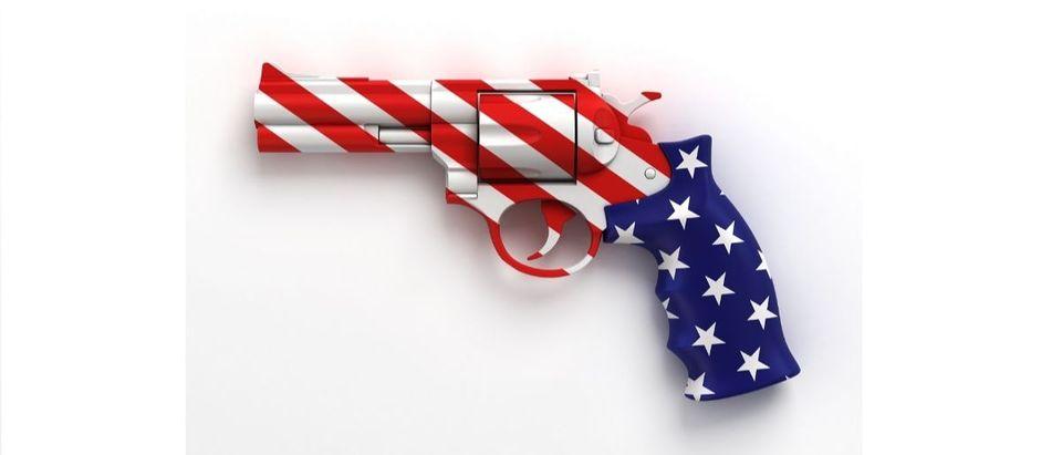gun flag Shutterstock/koya979