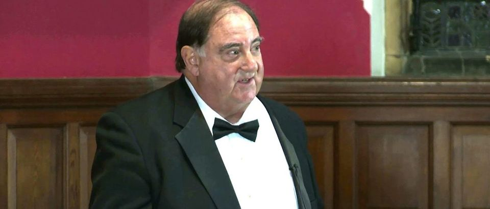 Stefan Halper (YouTube screen capture/Wellesley College) | Stefan Halper Tried To Enter Trump Admin | Navarro Feels Duped By Stefan Halper