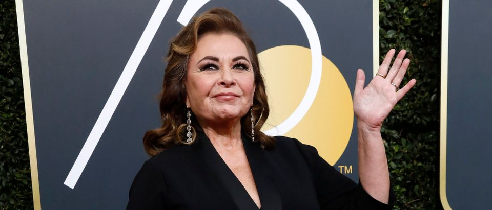 75th Golden Globe Awards Arrivals Beverly Hills, California, U.S., 07/01/2018 Actress Roseanne Barr. REUTERS/Mario Anzuoni - HP1EE18005HB2