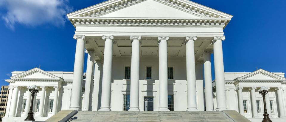 The Virginia State Capitol, designed by Thomas Jefferson who was inspired by Greek and Roman Architecture in Richmond, Virginia. (Photo: Felix Lipov/Shutterstock)